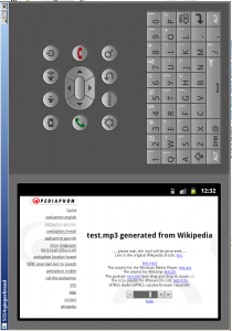 android gingerbread supporting HTML5 audio in emulator